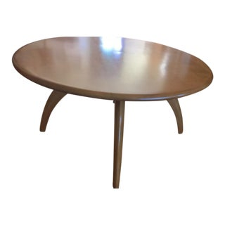 "Vintage Heywood-Wakefield ""Lazy Susan"" Coffee Table"