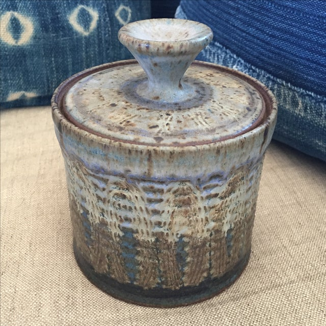 Vintage Studio Pottery Jar - Image 3 of 8