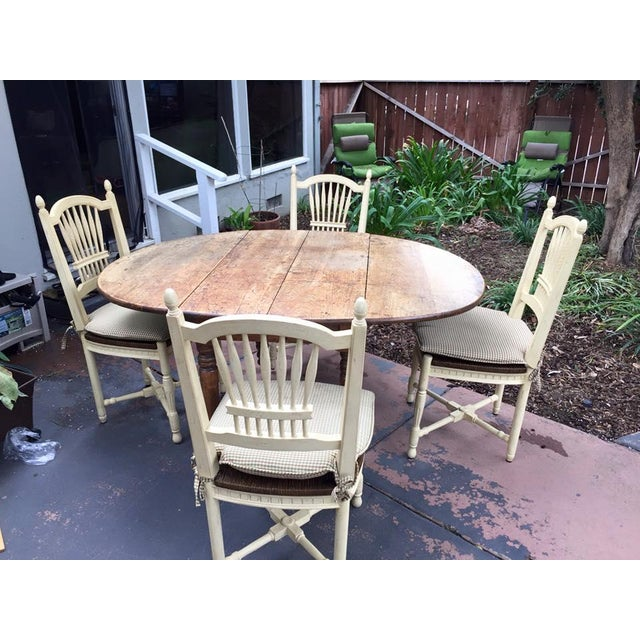 Image of 19th Century French Country Dining Set
