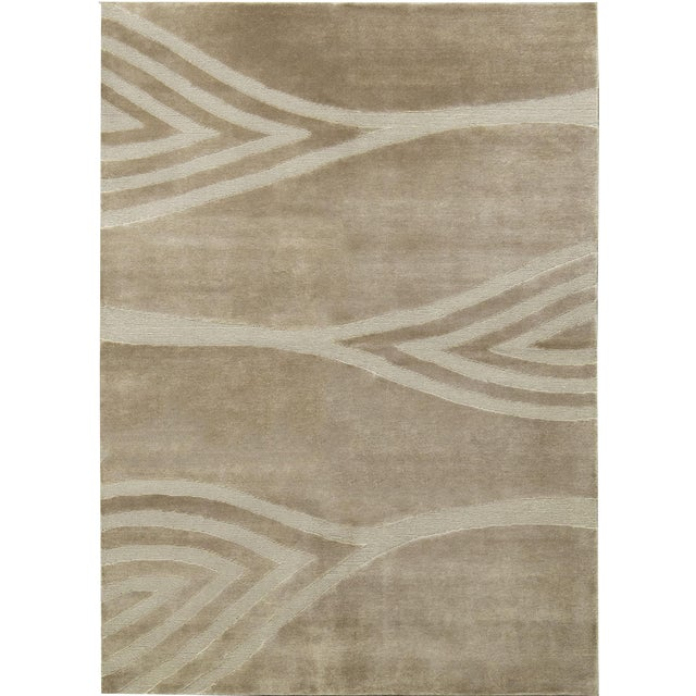 "Contemporary Hand-Woven Rug - 5'8"" x 7'10"" - Image 1 of 3"