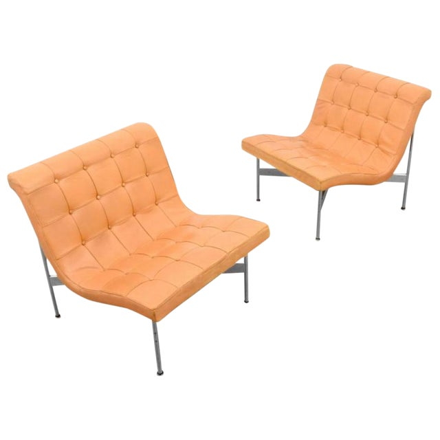 Pair Of William Katavolos, Ross Littell & Douglas Kelley New York Lounge Chairs - Image 1 of 6