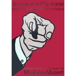 Roy Lichtenstein Amerikansk Pop-Konst Serigraph