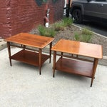 Image of Lane Acclaim Dovetail Side Tables - A Pair