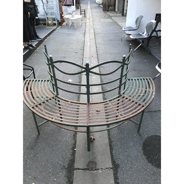 Round French Tuileries Bench - Image 2 of 8