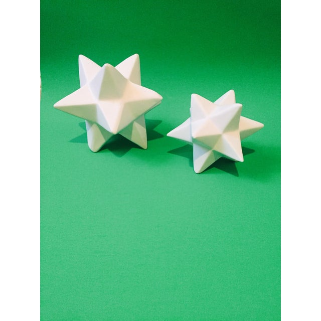 Image of Origami Star Objects- A Pair