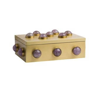 Emporium Home Small Amethyst Box