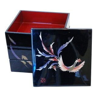 Japanese Yamamoto Kansai Lacquered Box