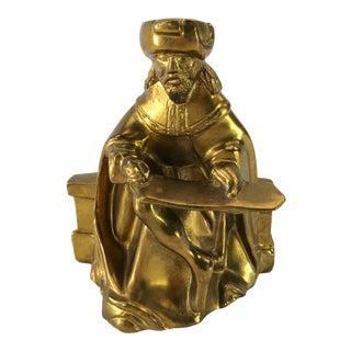 Metropolitan Cast Brass Statue
