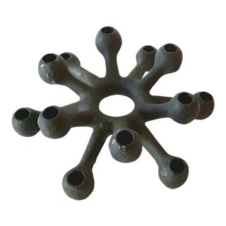Dansk Danish Modern Spider Iron Candle Holder
