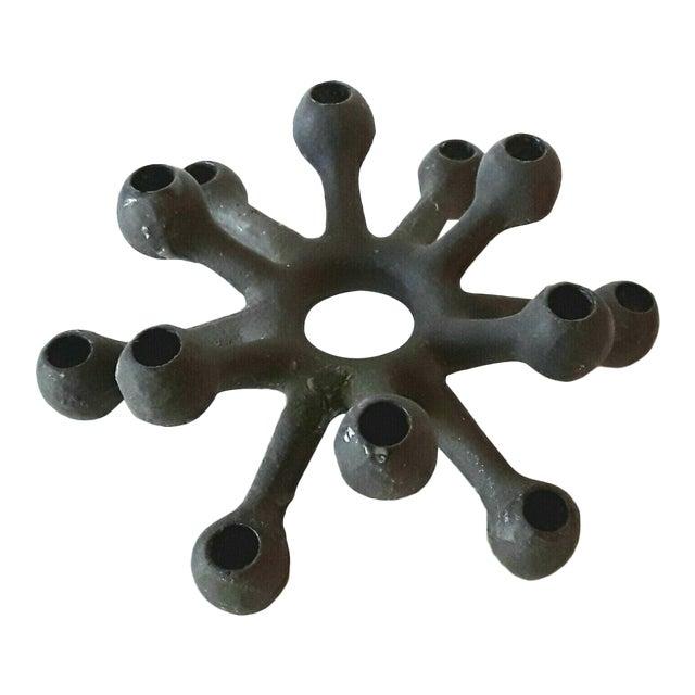 Dansk Danish Modern Spider Iron Candle Holder - Image 1 of 6
