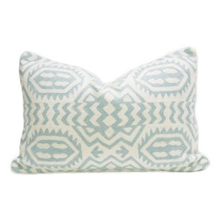 Kashmiri Native Tribal Turquoise Pillow