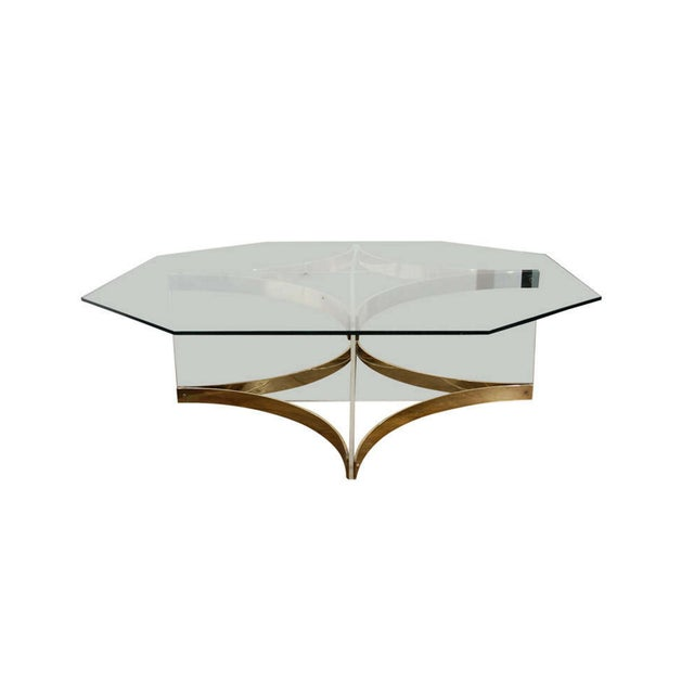 1970's Vintage Alessandro Albrizzi Coffee Table - Image 1 of 6