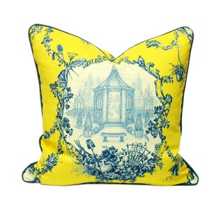 French Farmhouse Accent Pillows - a Pair