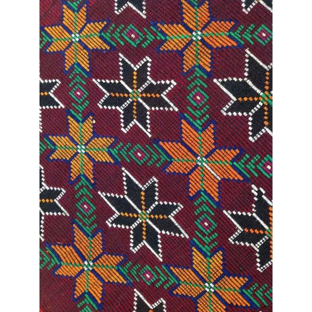 VINTAGE Handwoven Turkish Kilim Rug - Image 5 of 6