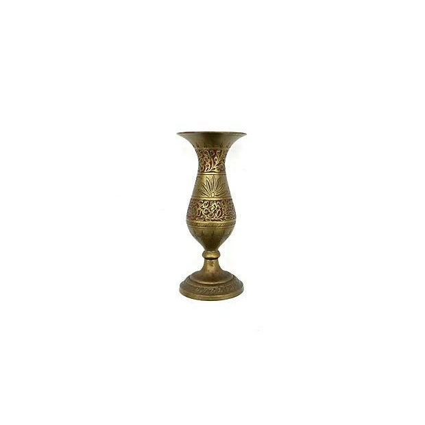Indian Fluted Vases - A Pair - Image 5 of 9