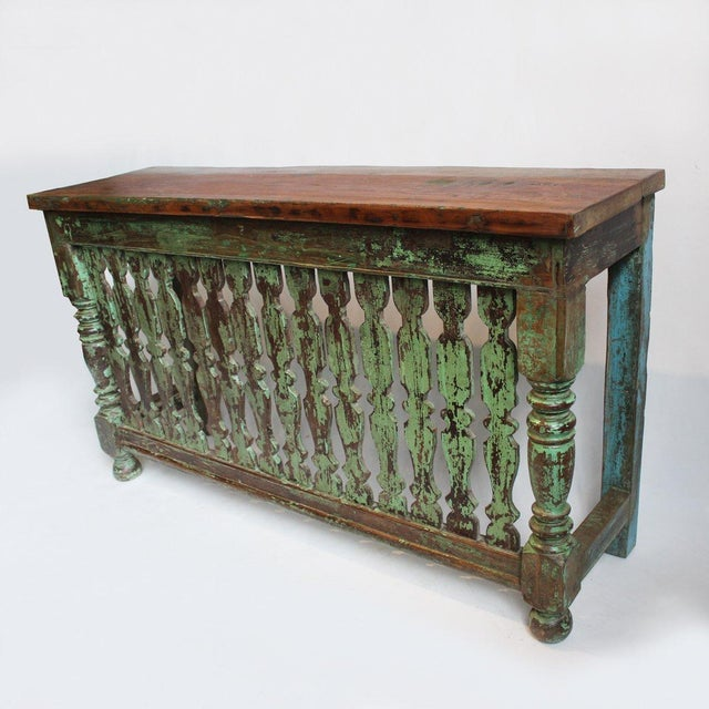 balcony console table chairish