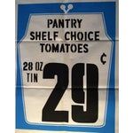 Image of 1950s Vintage Grocery Poster Tomatoes
