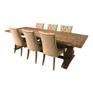 Restoration Hardware Dining Set - Table & 6 Chairs