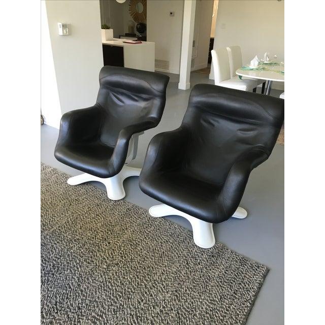 Karuselli Chairs Vintage Modern - A Pair - Image 4 of 10