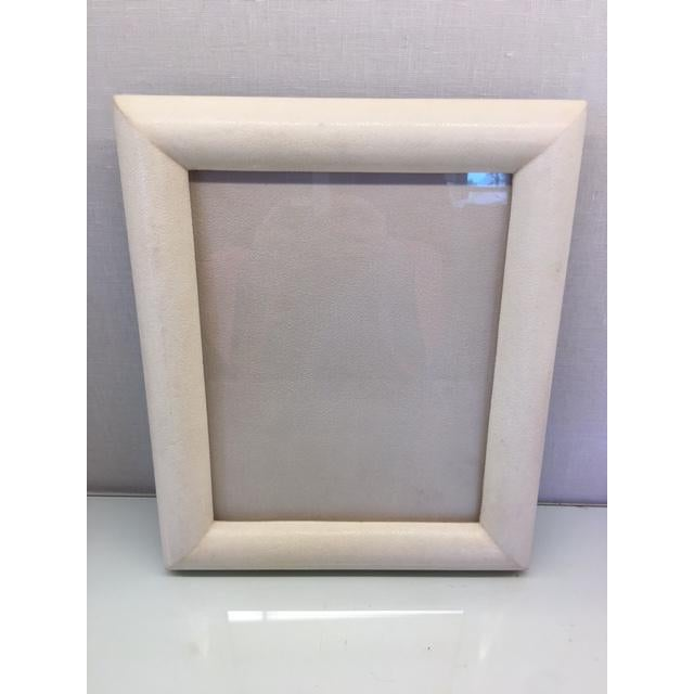 Cream Shagreen Picture Frame - Image 2 of 5