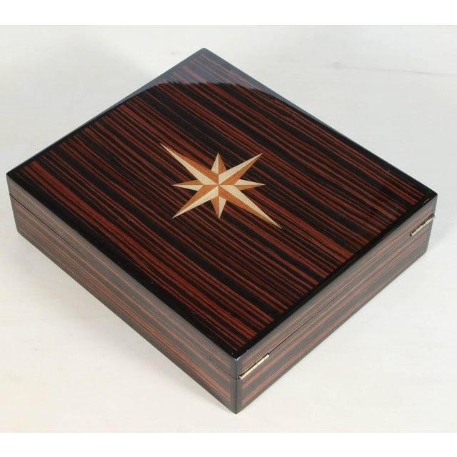 Macassar Lidded Box - Image 4 of 6