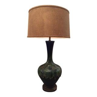 Mid-Century Blue & Green Lava Lamp