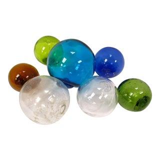 Glass Fishing Floats - Set of 8