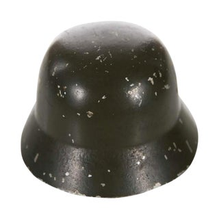 WW II Miniature German Helmet M1943 With Double Decal