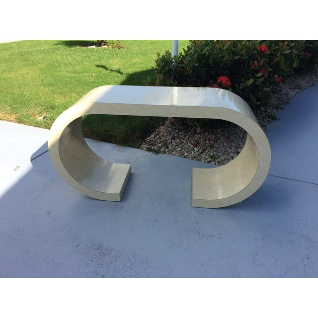 Art Deco Curved Table - Image 3 of 3