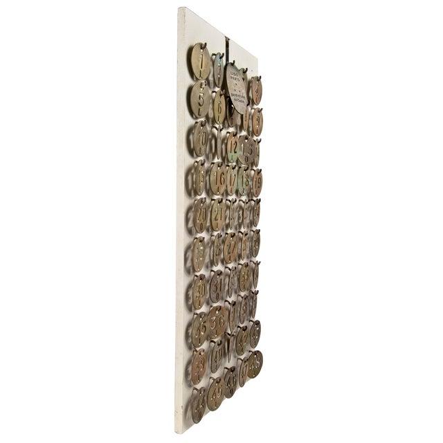 Le Lido Paris Brass Coat Check Tags- Set of 50 - Image 4 of 5