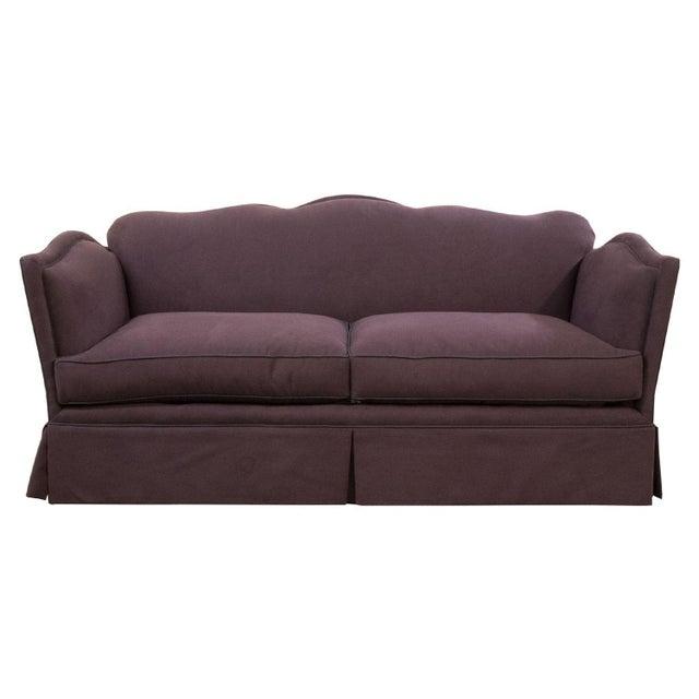 Aubergine Knole-Style Sofa - Image 1 of 6
