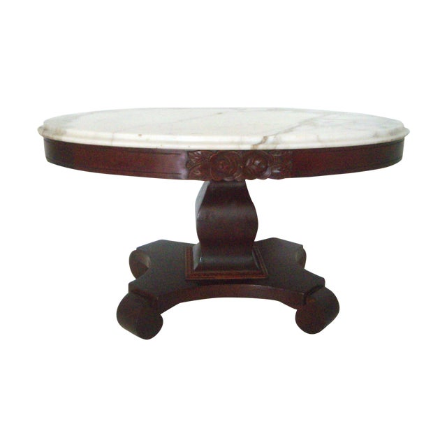 Empire Italian Marble Coffee Table Chairish