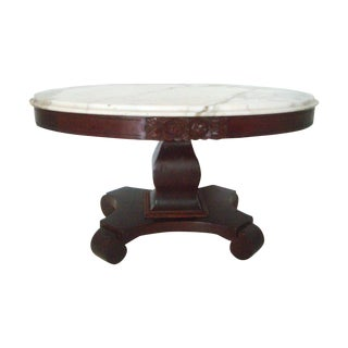 """Empire"" Italian Marble Coffee Table"