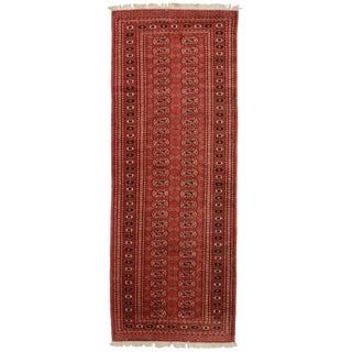 RugsinDallas Vintage Pakistani Bokhara Wool Runner - 3' X 8'