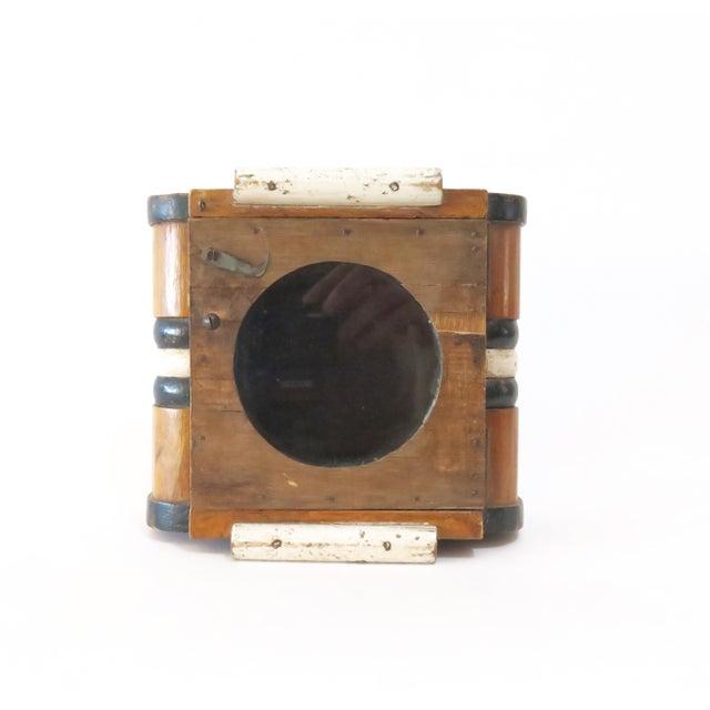 Vintage Wood Wall Mount Hanging Display Case - Image 2 of 7