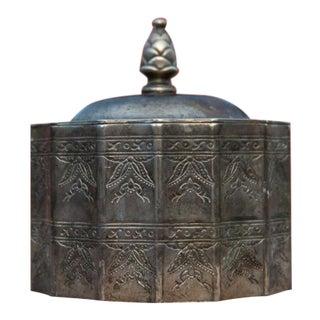 Vintage Silver Plated Trinket Box