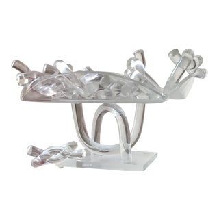 Dorothy Thorpe Pretzel Napkin Holders & Platter - Set of 9