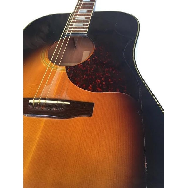 Image of Vintage 1960s Gibson Acoustic Guitar