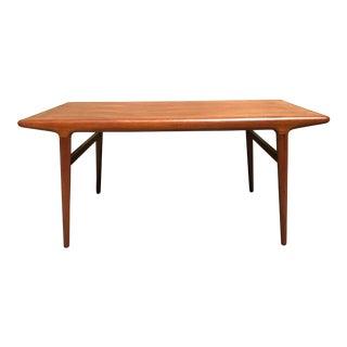 Johannes Andersen Danish Teak Dining Table