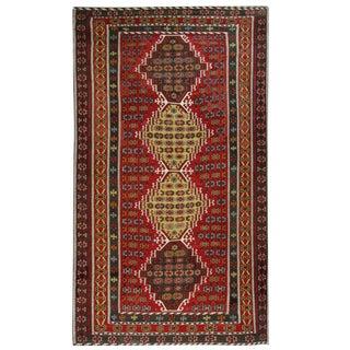 Antique Turkish Kilim Flatweave -- 7'1 x 12'6
