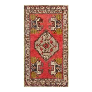 "Pasargad Vintage Sivas Wool Area Rug - 1'10"" x 3'5"""