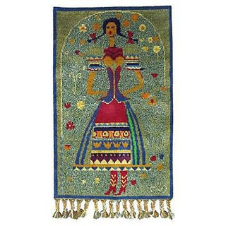 Hungarian Tapestry of a Young Woman