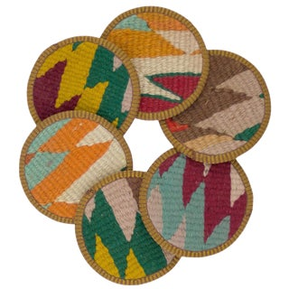Najila Kilim Coasters - Set of 6