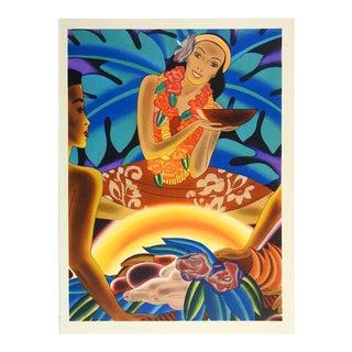 1941 Vibrant & Graphic Hawaiian Menu