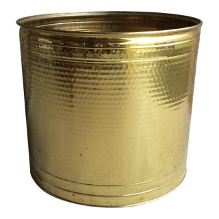 Vintage Large Brass Pot