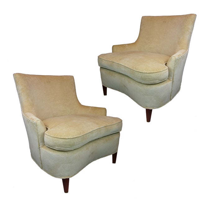 Image of Hollywood Regency Chairs, Billy Haines - Pair