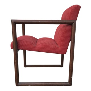 Red David Edward Chair