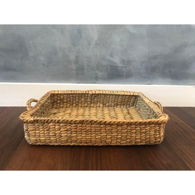 Wicker Basket Trays - Set of 3 - Image 5 of 7