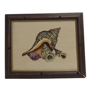 Vintage Framed Tapestry Artwork