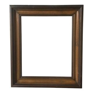 Dark Wood Vintage Frame